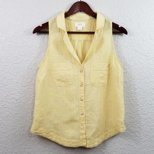 Maeve by Anthropologie Felicity Tank size 8